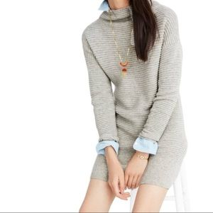 Madewell Skyscraper Merino Sweater Dress / Tunic